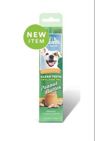 Tropiclean Fresh Breath Gel Peanut Butter