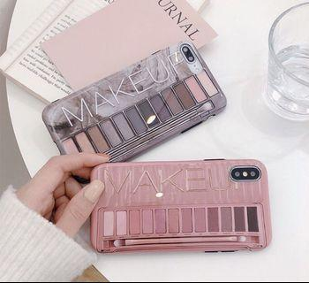 Make up painting art iphone 6 7 8 plus X XR XS Max case