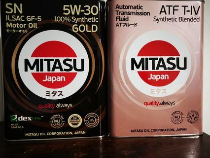 Engine Oil and Transmission Oil