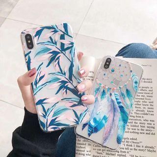 Leaves dreamcatcher leaf iphone 6 7 8 plus X XR XS Max case