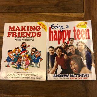 🚚 Making friends and being a happy teen 2 books for $10