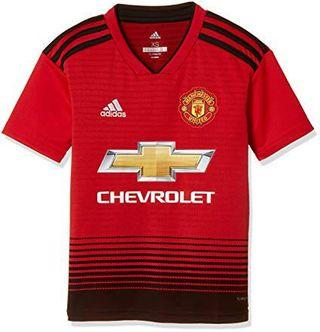 Manchester United Boys Home Jersey 18/19