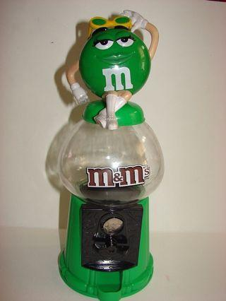 M&M candy dispenser/ piggy bank
