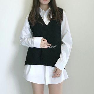 Semi-formal Cozy Vest