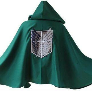 Attack on Titan Survey Corps Cloak (Shingeki no Kyojin Anime)