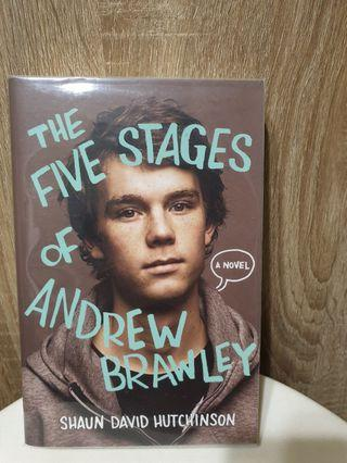 The five stages of Andrew Brawley- Shaun David Hutchinson