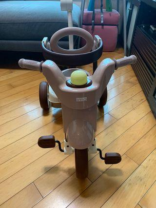 iimo 第二代日本可摺疊兒童三輪車