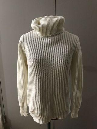 ♦️BNWT all about eve holiday knit cream jumper size 6