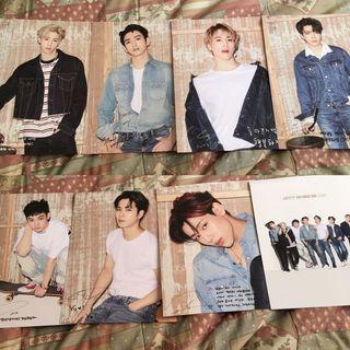 GOT7 WORLD TOUR EYES ON YOU PHOTOBOOK CARD