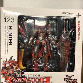 Monster Hunter Revolt Tech Yamguchi 魔物獵人 山口式 火龍装 海洋堂 (100% new)