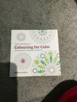 Destress with Colouring for Calm