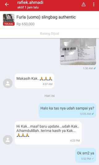 Testimoni from our customer