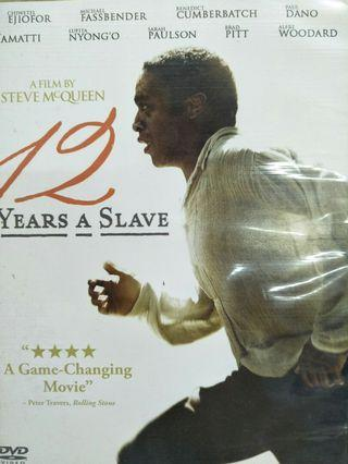 🚚 12 years a slave dvd