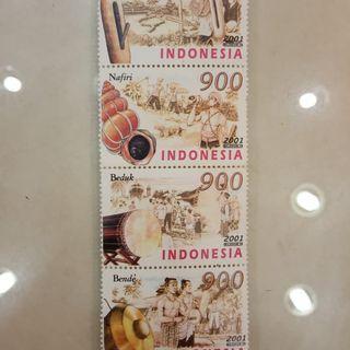 Perangko Indonesia edisi barang kesenian