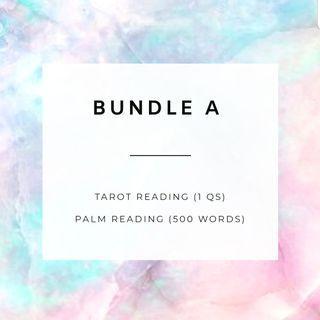 🚚 Bundle A - Tarot + Palm reading