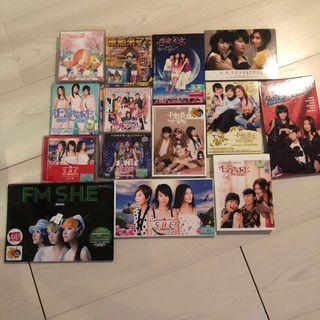 S.H.E albums