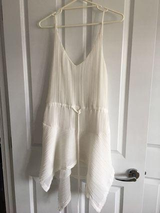 Shona joy white dress