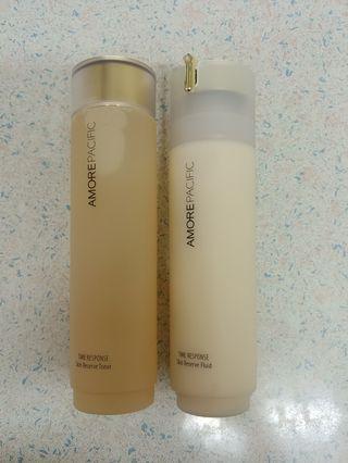 Amorepacific TIME RESPONSE Skin Reserve Toner 200ml/ Fluid 160ml