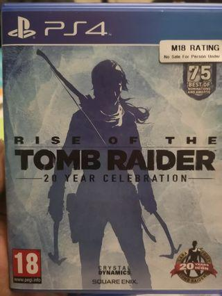 PS4 Rise of Tomb Raider