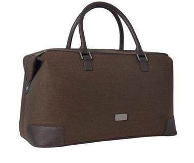 Hugo boss overnight carry bag (brown)