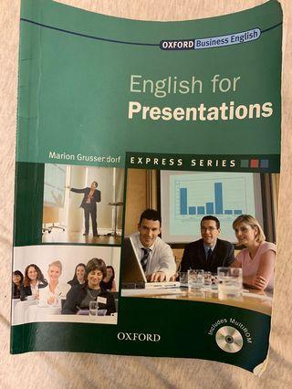 🚚 English for presentations