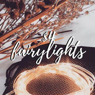 ✨ $4 FAIRYLIGHTS!
