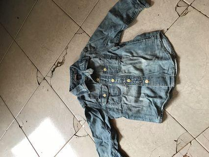 Baby Denim jacket GAP ori 100%