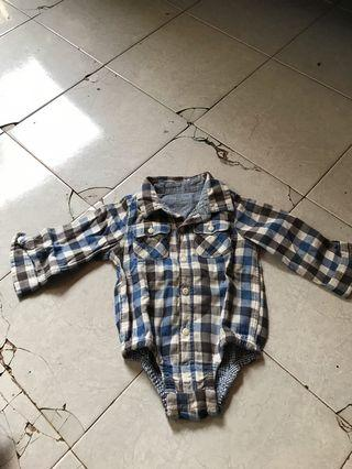 Bodysuit checker GAP ori 100%