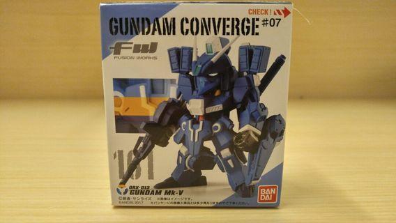 歡迎交換 全新 Fw Gundam Converge 161 Mk V 高達