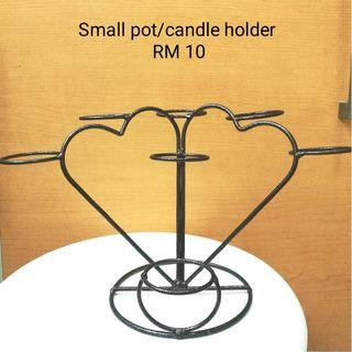 Plants/candle holder