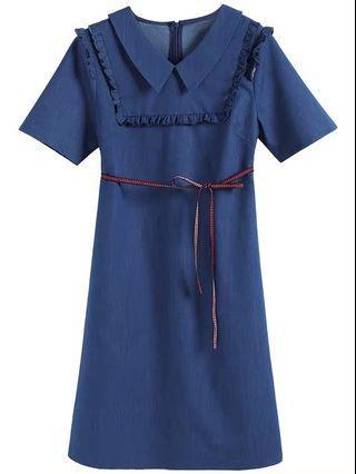 Denim Dress plus size
