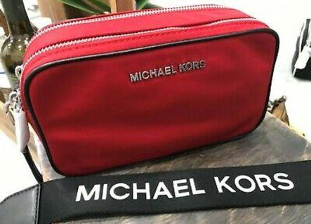 Michael Kors Sports collection double zip camera bag