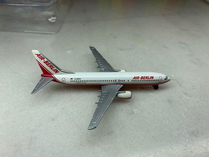 飛機模型Herpa 1:500 737-800 Berlin