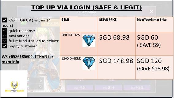 High End Kings Raid Account, Toys & Games, Video Gaming, In-Game