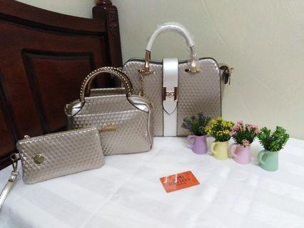 3 in 1 Handbag Set