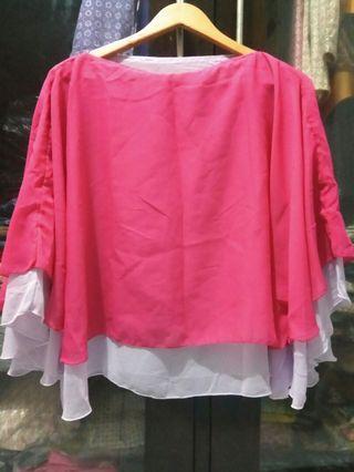 #mauthr Blouse Pink