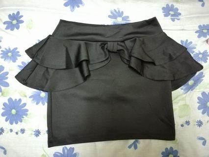 Black Skirt ( Stretchable)
