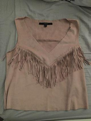 Suede Guess Top
