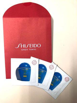 Shiseido 防曬 Perfect UV Protector SPF 50 PA++++ 旅行套裝3包( very water resistant)