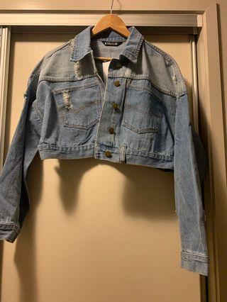 Fashion nova denim jacket