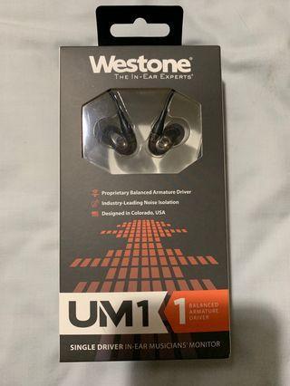 🚚 Westone UM1 (Revised ver.)