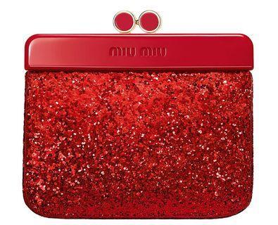 🚚 MIU MIU 閃耀派對 零錢包 手拿包。新賣場大特價