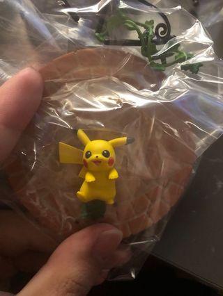 比卡超 食玩 pokemon re-ment 全新未開