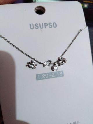Kalung Usupso + Anting