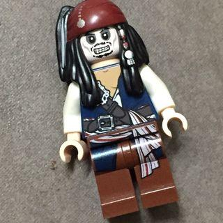 Lego Captain Jack Sparrow Skeleton