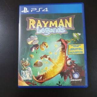 PS4 Game Rayman Legends
