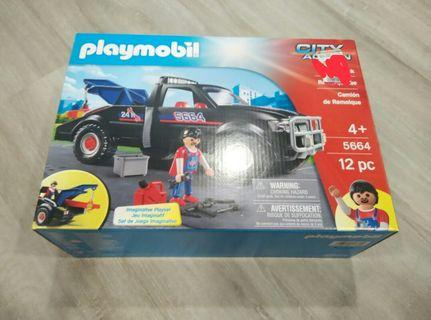 🚚 (With Free Gift) Playmobil City Action Tow Truck 5664