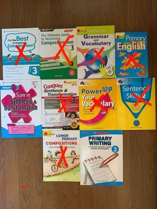 P3 English assessment and guide books