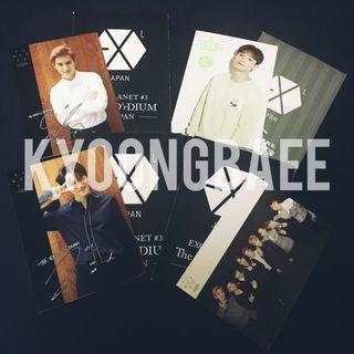 [WTS/READY STOCK] EXO OFFICIAL JAPAN FANCLUB PHOTOCARD