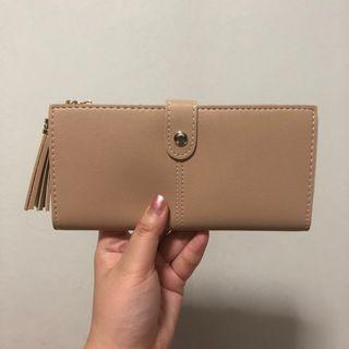 🚚 (Sales) Light Gold Long Wallet With Tassel